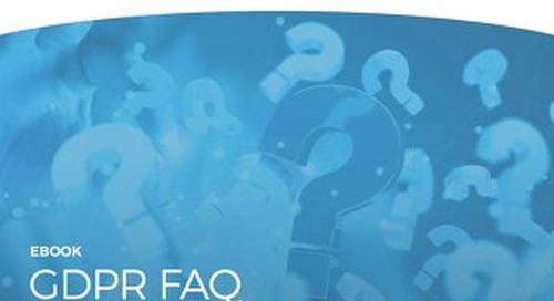 GDPR FAQ eBook- Legal Questions. Straightforward Answers.