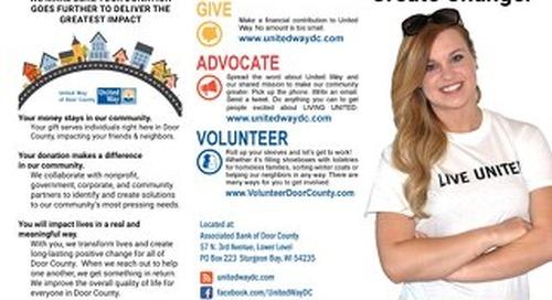 Door County United Way Brochure