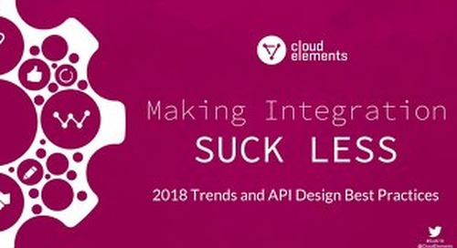 Making Integration Suck Less | Dzone Webinar Slides
