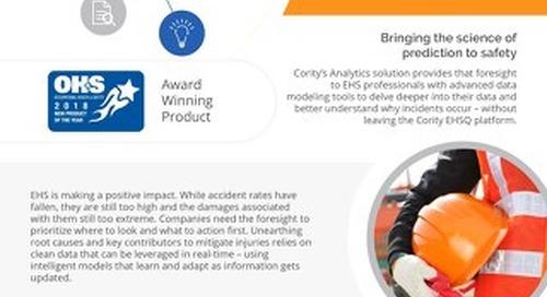 Product Sheet - Cority Analytics