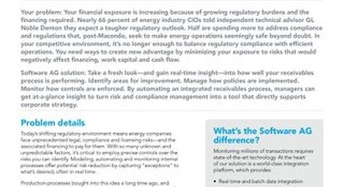 CASH FLOW RISK MANAGEMENT SOLUTION FOR THE ENERGY INDUSTRY
