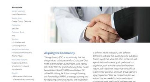 Case Study: Orange County Health Care Agency