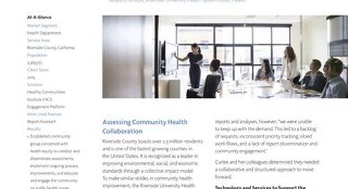 Case Study: Riverside University Public Health HCI