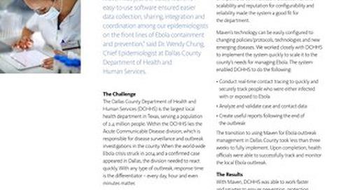 Dallas Maven Outbreak Management Software