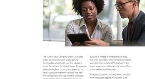 Hudson Bay Company: Employee Communications