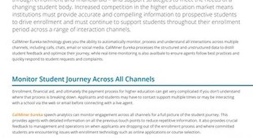 Speech Analytics for Higher Education
