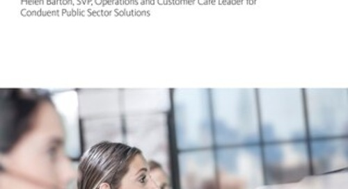Public Sector Customer Care Trends