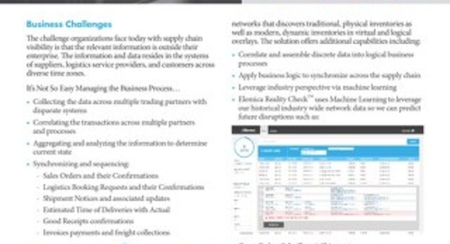 Elemica Pulse Datasheet