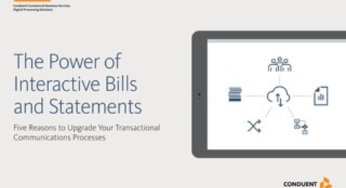 The Power of Interactive Bills Statements