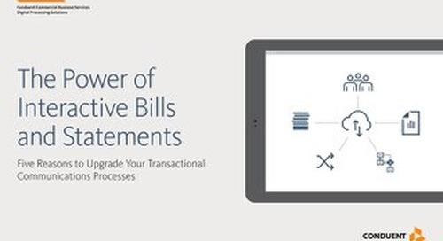 The Power of Interactive Bills Statements