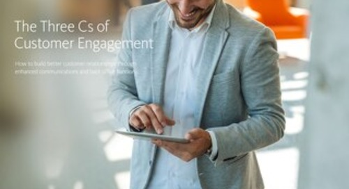 The Three Cs of Customer Engagement
