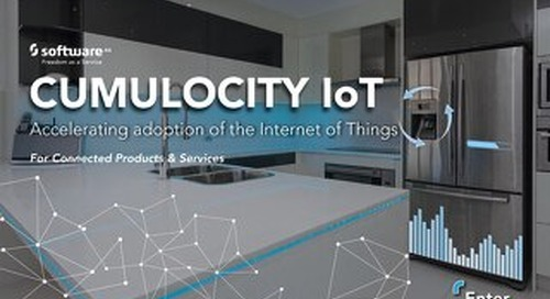 CUMULOCITY IoT – Connected Products & Services