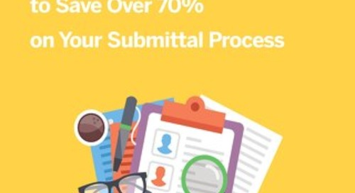 3 Simple Ways to Save Over 70% on Your Submittals