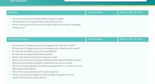 Questions to Ask Before Getting Started with ABM  |  Engagio
