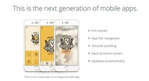 Progressive Web App Overview