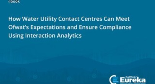 How Water Utility Contact Centres Can Meet Ofwat's Expectations