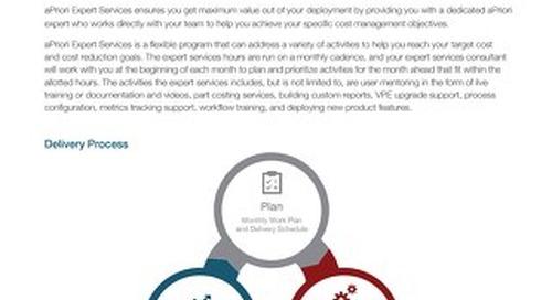 aPriori Expert Services DS