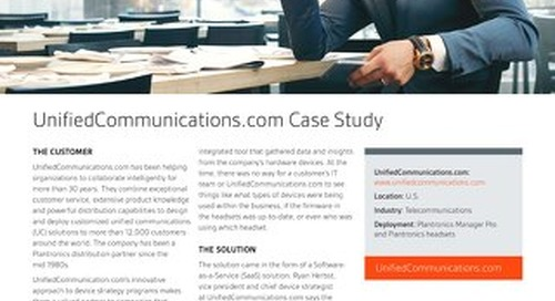 Unified Communications Case Study