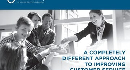 A Completely Different Approach To Improving Customer Service