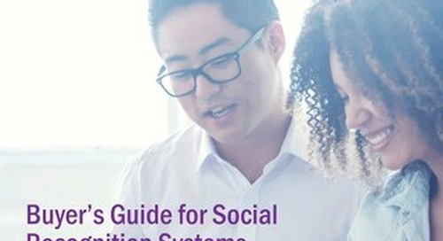 Buyer's Guide for Social Recognition Systems