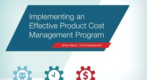 Effective Cost Management