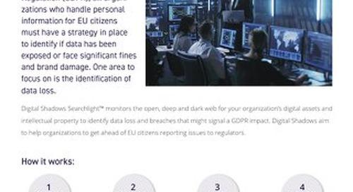 GDPR Data Loss Assessment