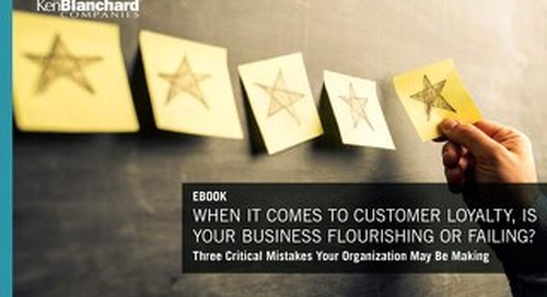 When It Comes to Customer Service, Is Your Business Flourishing or Failing?