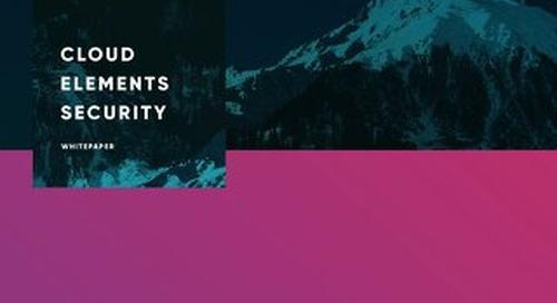 Cloud Elements Platform Security