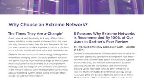 Six Reasons to Consider Extreme for Your Next Government Project