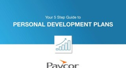 5 Step Guide to Personal Development Plans