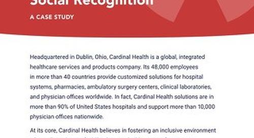 Case Study: Cardinal Health