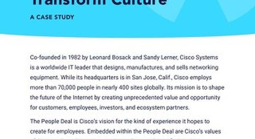 Case Study: Cisco