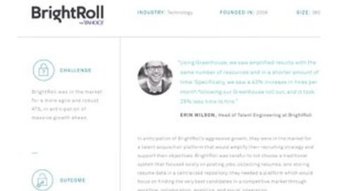The Search for a Modern Applicant Tracking System at BrightRoll