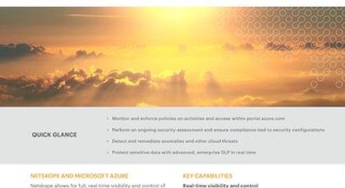Netskope and Microsoft Azure