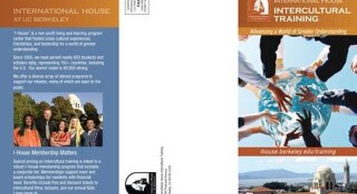 Intercultural Training Brochure
