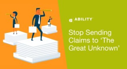 """Stop Sending Claims to 'The Great Unknown"""""""