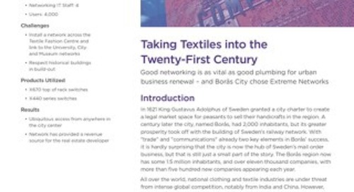 Taking Textiles into the Twenty-First Century
