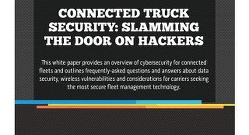 Connected Truck Security: Slamming the Door on Hackers