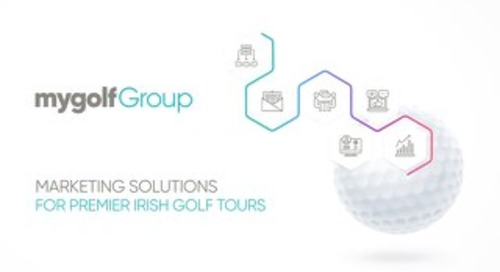 My Golf Group - Marketing Solution