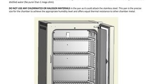 [Instructions] Stainless Steel Water Pan NU-5842 Operation and Installation