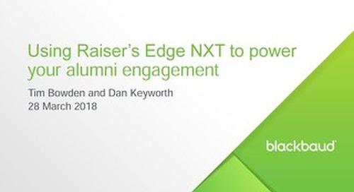 [Slideshare] Power your alumni engagement with Raiser's Edge NXT
