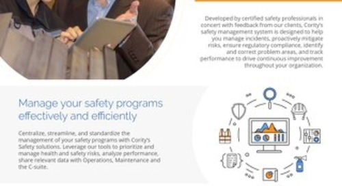 Product Sheet - Safety Management Platform