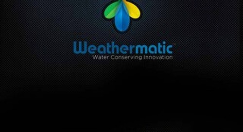 Weathermatic's Sustainability Services Brochure