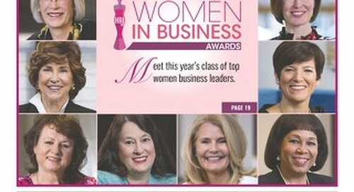 Women in Business Awards —April 2, 2018