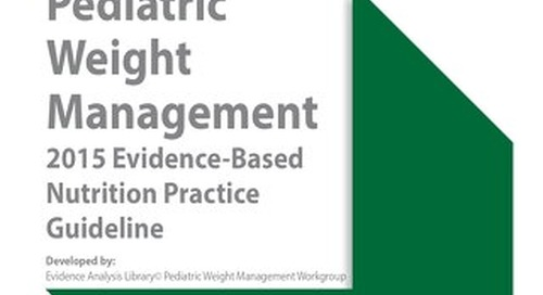 Pediatric Weight Management