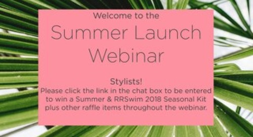 Summer Launch Webinar