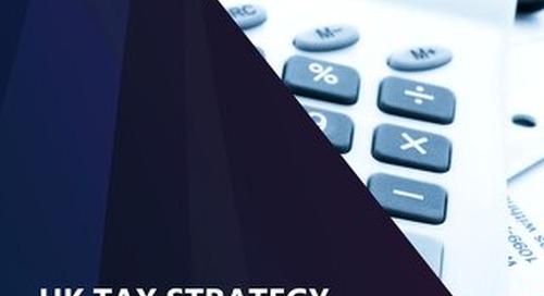 UK Tax Strategy Document 2019 at Dec 19