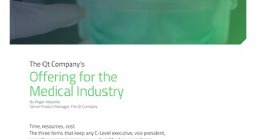 White paper: Offering for the Medical Industry