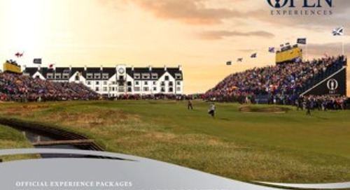 2018 The Open Brochure