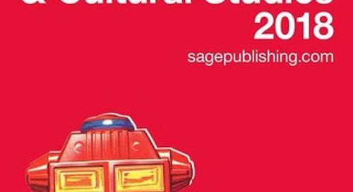Media, Communication & Cultural Studies Catalogue 2018